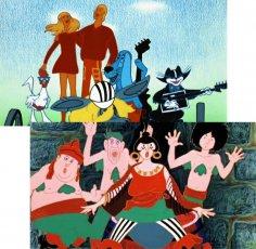 С кого срисованы герои мультфильма «Бременские музыканты»?